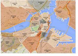 Boston Mass Map by Boston Carte De Zonage Jpg