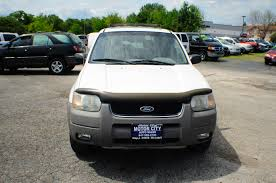 Ford Escape White - 2001 ford escape xlt white 4x4 suv sale
