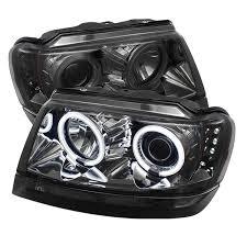 jeep headlights halo amazon com spyder auto pro yd jgc99 ccfl sm jeep grand cherokee