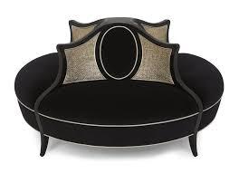 canape forme ronde canapé rond de style bois en tissu 60 0414 christopher