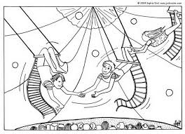 circus coloring pages trapeze artists 471330 coloring pages for