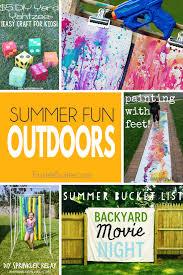 summer fun outdoor activities fluster buster