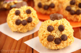 jack o lantern rice krispie treats amy u0027s healthy baking
