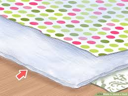 How To Make A Duvet Cover Stay The Best Way To Make A Quilt Wikihow