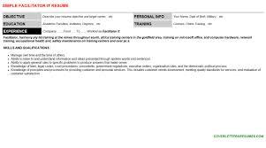 wraparound facilitator resumes u0026 cover letters