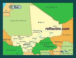 Mali Map Africa by Map Of Mali Travel