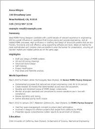 3d Resume Templates Professional Pdms Piping Designer Templates To Showcase Your