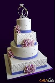 wedding cake lavender 4 tier lavender hydrangeas wedding cake cmny cakes