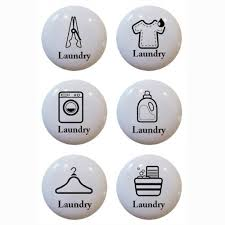 themed knobs set of 6 laundry theme ceramic knobs pull kitchen drawer cabinet