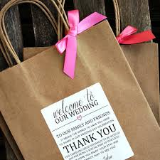welcome to our wedding bags welcome to our wedding thank you personalized wedding welcome bag