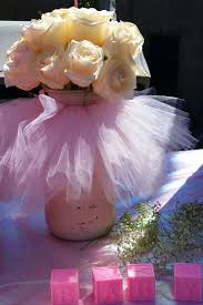 Vase Centerpieces For Baby Shower Tutu Cute Baby Shower