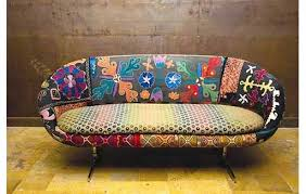 vintage sofas make your greeting room pop with a vintage find lorraine your realtor