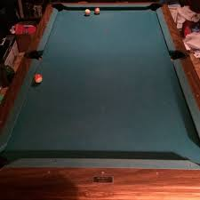 brunswick bristol 2 pool table brunswick bristol ii slate billiard pool table games toys in