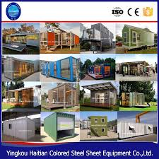 luxury low cost european container house ready made container home