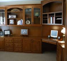 Built In Office Desk Ideas Wonderful Built In Corner Office Desk Amazing With Shelves Storage