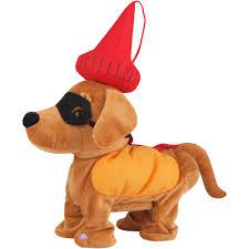 gemmy animated dancing weiner dog halloween decoration walmart com