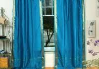 Peacock Blue Sheer Curtains White And Blue Shower Curtains Home Design Ideas