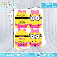 minions centerpieces minion girl centerpieces birthday party girly minion centerpiece