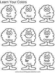 color worksheets for kindergarten free download