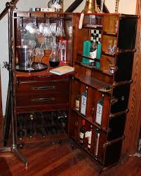 Trunk Bar Cabinet Bar Furniture Chair Market
