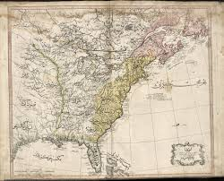 United States Map With Postal Abbreviations by Online Maps The Cedid Atlas 1803