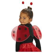 Lady Bug Halloween Costume Ladybug Toddler Wing Headband Size Fits Target