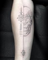 99 gnarly skull tattoos that will make you gawk tattoo tatoo