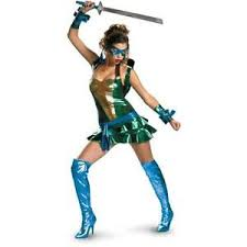 Ninja Turtle Halloween Costume Girls Ninja Turtle Costume Ebay