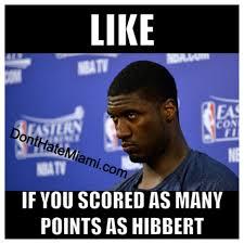 Roy Hibbert Memes - roy hibbert memes 28 images roy hibbert internet pokes fun at