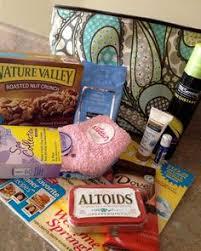 hospital gift basket emmergen c or airborne goodie bag for hospital stays