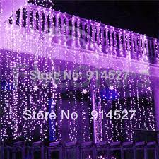 outdoor 600 led 6x3m curtain lights purple white rgb