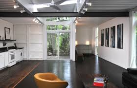 shipping container home interiors two shipping containers turned into a small house