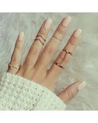 ring set mystic knuckle ring set freeship the flower shop