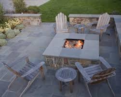 fire pit and outdoor fireplace ideas gallery on rectangular patio