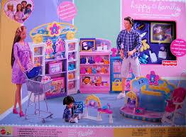 amazon com barbie happy family baby store playset 2002 toys
