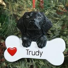 black lab christmas ornament doliquid