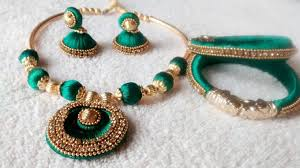 fashion necklace making images Jewellery designing guide to making silk thread jewellery jpg