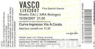 vasco bologna biglietti biglietti vasco 2007 stadio delle alpi torino 2010