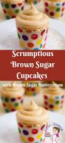 scrumptious brown sugar cupcakes veena azmanov