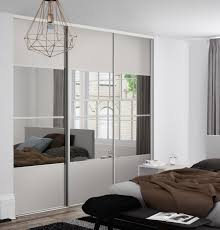 Clear Mirrored Wardrobe 2 Door The Sliding Wardrobes Company Sliding Wardrobe Doors Wardrobes