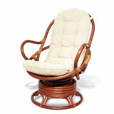 amazon com java swivel rocking chair colonial with cushion