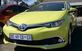 sharpened toyota auris lands in sa iol motoring