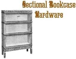 Sectional Bookcase Replacement Hardware For Antique Sectional Bookcase