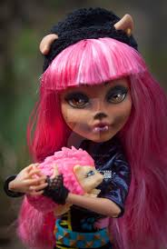 Howleen Wolf 13 Wishes Monster High 13 Wishes Howleen Repaint By Paulthedoodlebug On