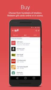 mobile gift cards gyft mobile gift card wallet apk free shopping app