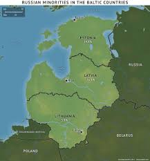 Baltic States Map The Baltic Countries Respond To Russian Minorities Stratfor