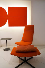 Orange Chair by Orange Furniture For Bold And Cheerful Interior Decors