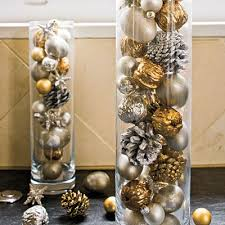 our best decorating ideas ornaments gold spray and