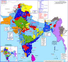 Map Of India by Map Of India