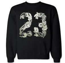 amazon com ftd apparel men u0027s space jam 23 crew neck sweater clothing